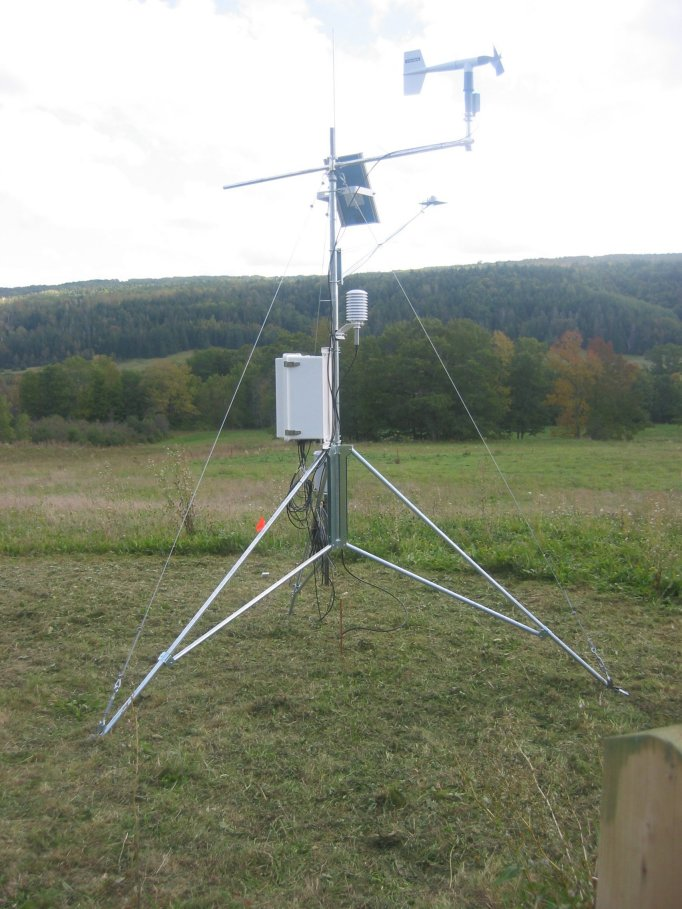Weather Station from Climate Project at AGRG