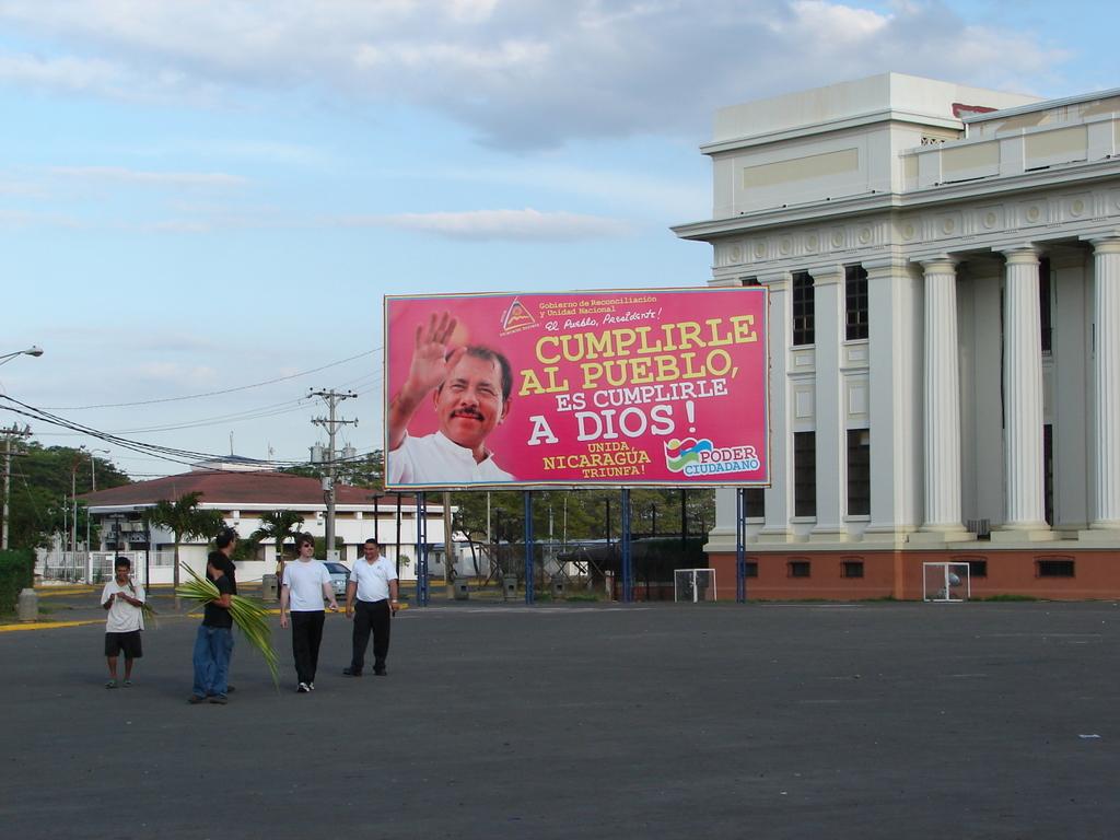 Pink Presedntial Billboards