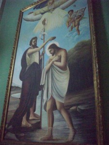 Art work in Iglesia la Merced