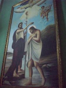 Art work in Iglesia la Merced