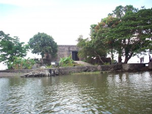 Historic Fort on Island