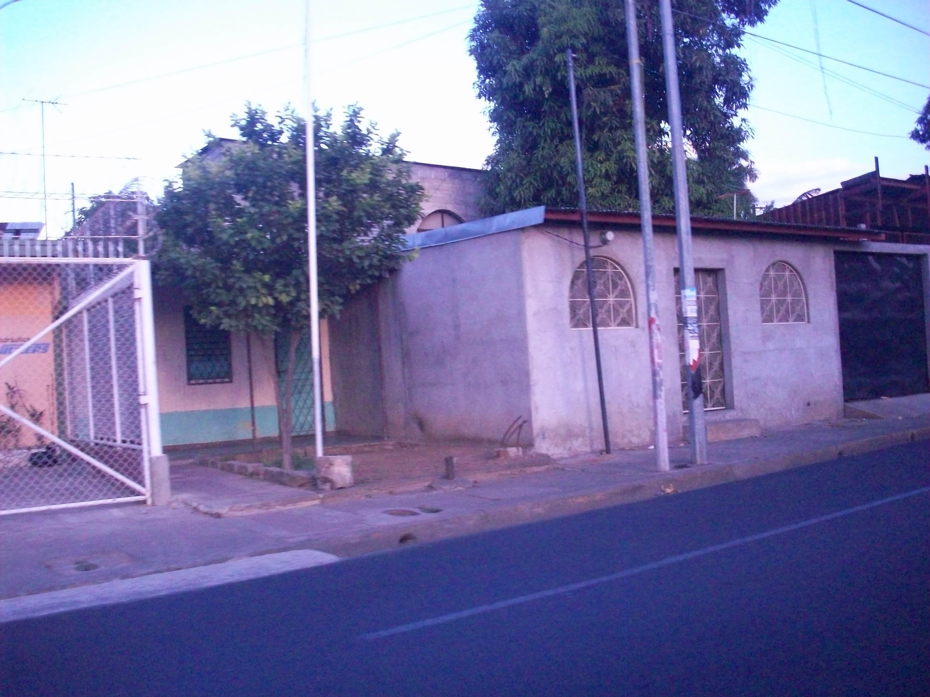 Street in Managua, Nicaragua