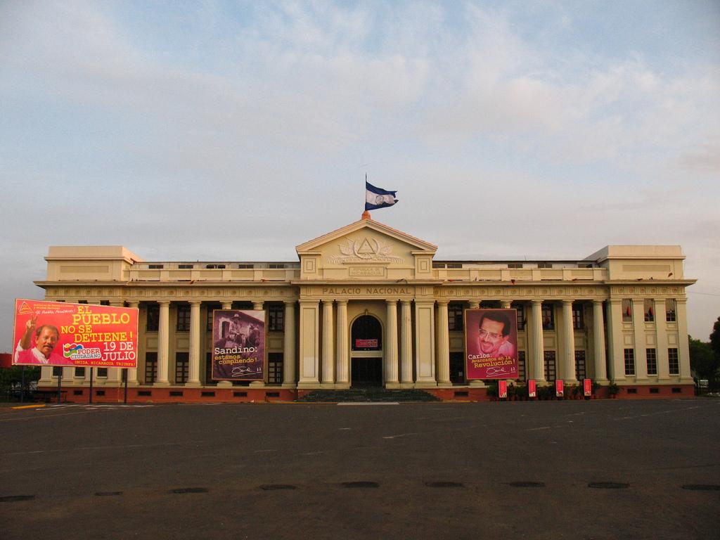 Palacio Nacional in Nicaragua