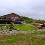 Seabee amphibian bush plane in Sioux Lookout, Ontario