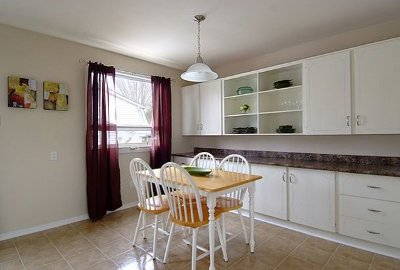 the kitchenette after renos