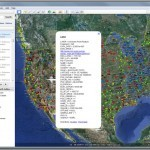 NGS CORS sites in Google Earth