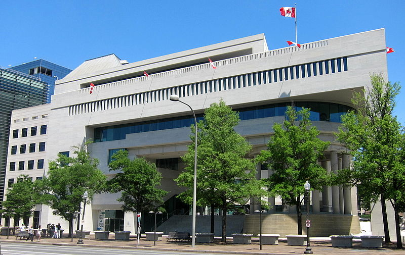 Canadian Embassy in Washington DC - USA