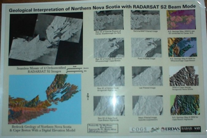 Geologic Application of RadarSat S2