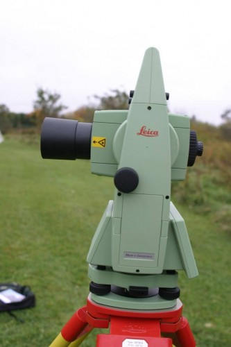 Exporting Data From Leica Total Station  Tcr1105  - Tmackinnon Com