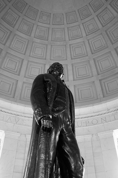 Statue of Thomas Jefferson - Washington, DC