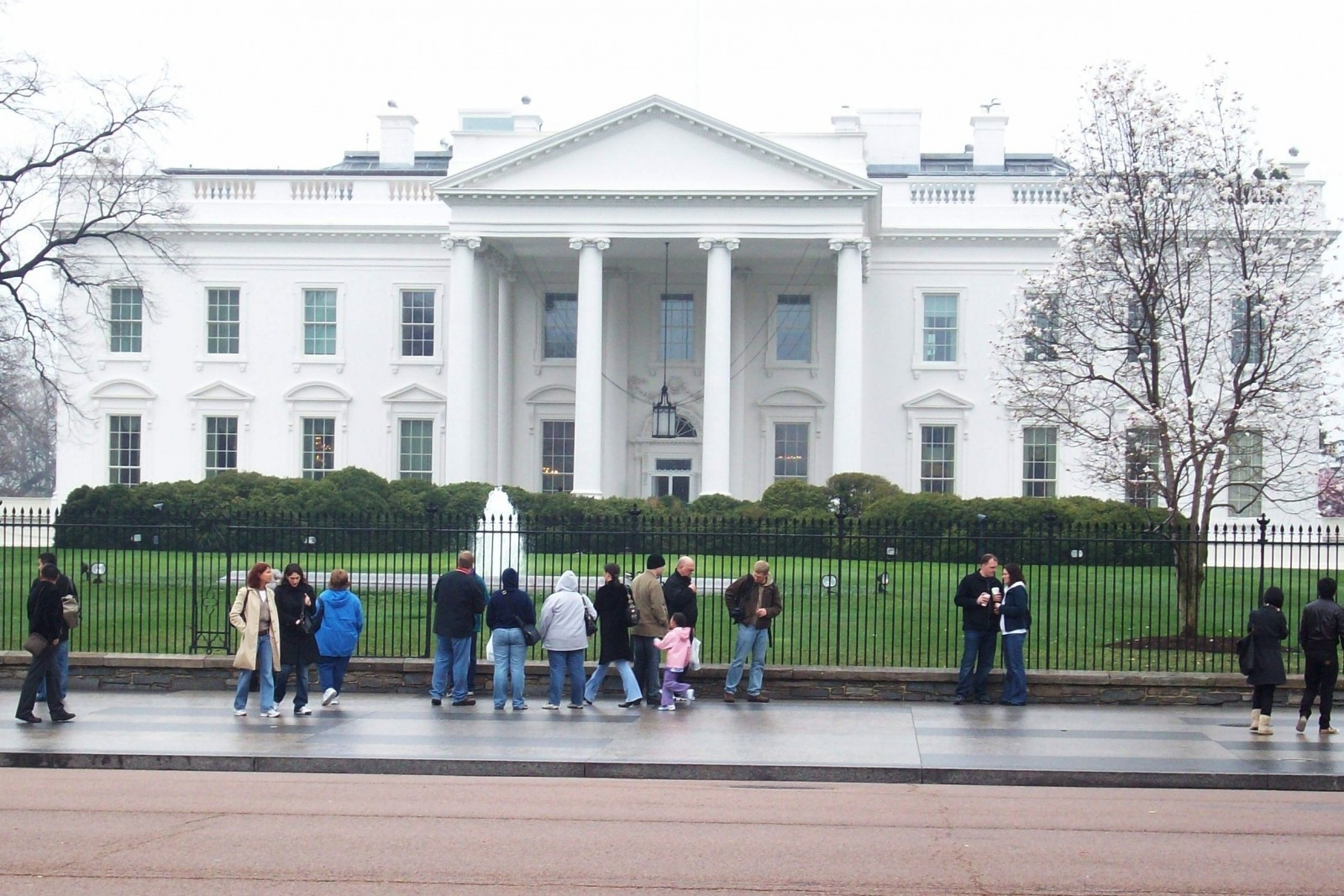 the White House - 1600 Pennsylvania Avenue Washington, DC