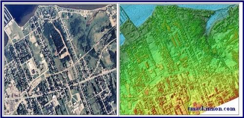 Orthophoto & LIDAR CSR for New Brunswick