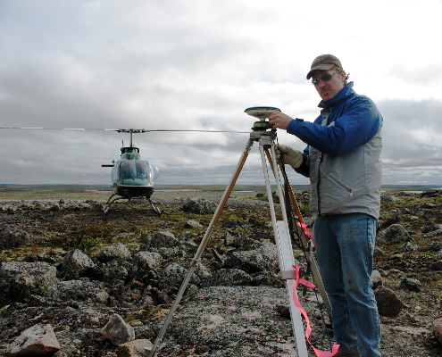 tmackinnon Canadian Geomatics Portfolio - LiDAR surveying in Nunavut during 2008